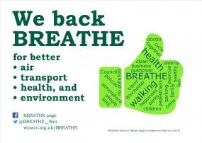 We back BREATHE poster