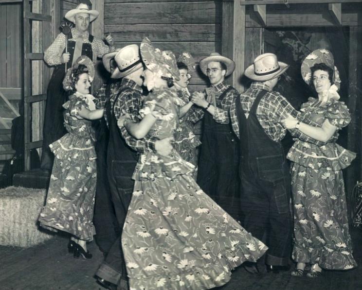 old time barn dance
